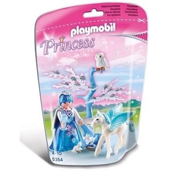 PLAYMOBIL - SOFT BAGS PRINCESAS 5354 - PRINCESA DO INVERNO COM PEGASUS - SUNNY