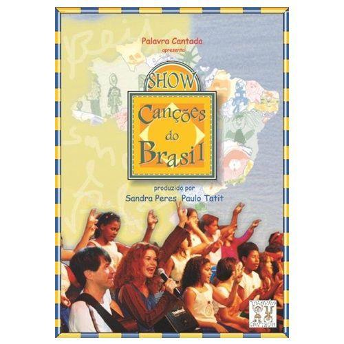 DVD SHOW CANÇÕES DO BRASIL - AM0001000 - MCD