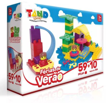 TAND KIDS FÉRIAS DE VERÃO - 2297 - TOYSTER