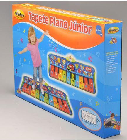 TAPETE PIANO JÚNIOR - WINFUN - REEMBALADO/MOSTRUÁRIO
