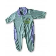 Macacão Bebe Recém Nascido Masculino Bordado Cod 9113