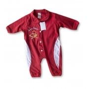 Macacão Bebe Recém Nascido Masculino Bordado Cod 9123