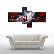 Quadro Decorativo Abstrato Cod 1706