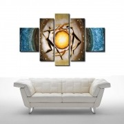 Quadro Decorativo Abstrato Dança Cod 346