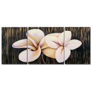 Quadro Decorativo Flores/Florais Moderno Cod 259 130cm (A) x 304cm (L)