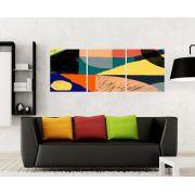 Quadro Formas Geometricas Impressão em Canvas Fine Art Cod 7033