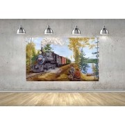 Quadro Pintura Impressão em Canvas Fine Art Cod 7007