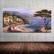 Quadro Pintura Paisagem Óleo Sobre Tela Cod 3002
