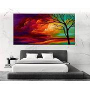Quadro Pintura Tela Abstrato Cod 2015