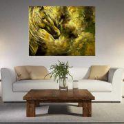 Quadro Pintura Tela Abstrato Moderno Cod 2011