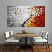 Quadro Pintura Tela Abstrato Moderno Cod 2175
