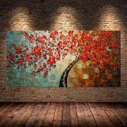 Quadro Pintura Tela Abstrato Moderno Cod 2186