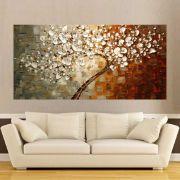 Quadro Pintura Tela Abstrato Moderno Cod 2188