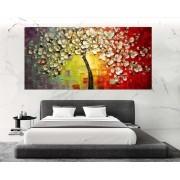 Quadro Pintura Tela Abstrato Moderno Cod 2192