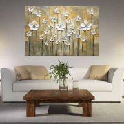 Quadro Pintura Tela Abstrato Moderno Cod 2403