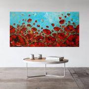Quadro Pintura Tela Abstrato Moderno Cod 2407