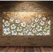 Quadro Pintura Tela Abstrato Moderno Cod 2413