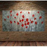Quadro Pintura Tela Abstrato Moderno Cod 2415