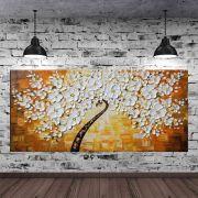 Quadro Pintura Tela Abstrato Moderno Cod 2465