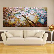 Quadro Pintura Tela Abstrato Moderno Cod 2474