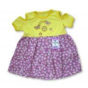 Vestido Bebê Recém Nascido Feminino Menina Cod 9056