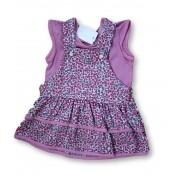 Vestido Bebê Recém Nascido Feminino Menina Cod 9059