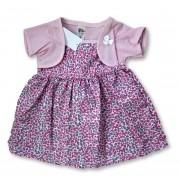 Vestido Bebê Recém Nascido Feminino Menina Cod 9063