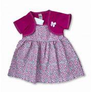 Vestido Bebê Recém Nascido Feminino Menina Cod 9066
