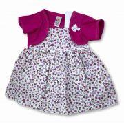 Vestido Bebê Recém Nascido Feminino Menina Cod 9067