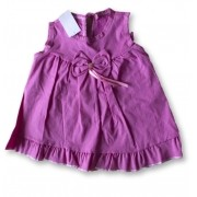 Vestido Bolero Bebê Recém Nascido Feminino Menina Cod 9088