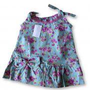 Vestido Bolero Bebê Recém Nascido Feminino Menina Cod 9089
