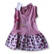 Vestido Com Tiara Bebê Recém Nascido Feminino Menina Cod 9099
