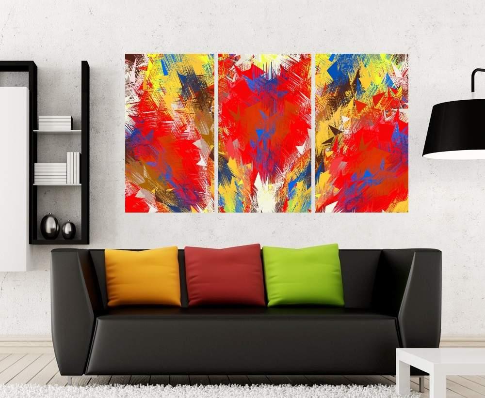 Quadro Aquarela Impressão em Canvas Fine Art Cod 7052