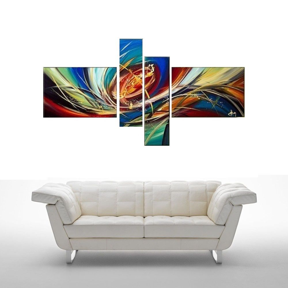 Quadro Decorativo Abstrato Cod 1702