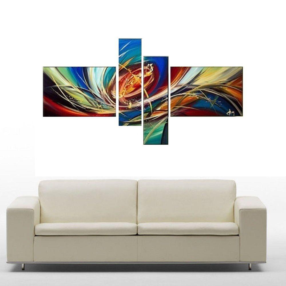 Quadro Decorativo Abstrato Cod 1702