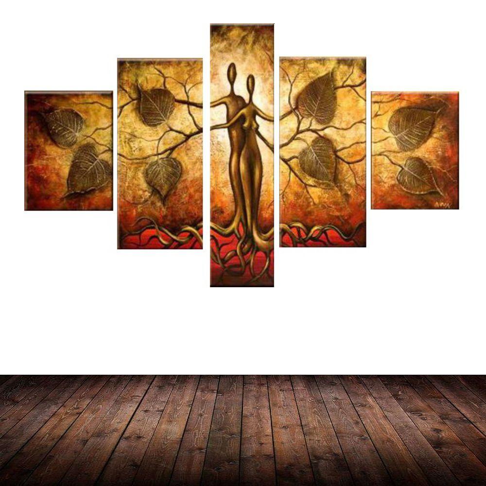 Quadro Decorativo Abstrato Cod 1703