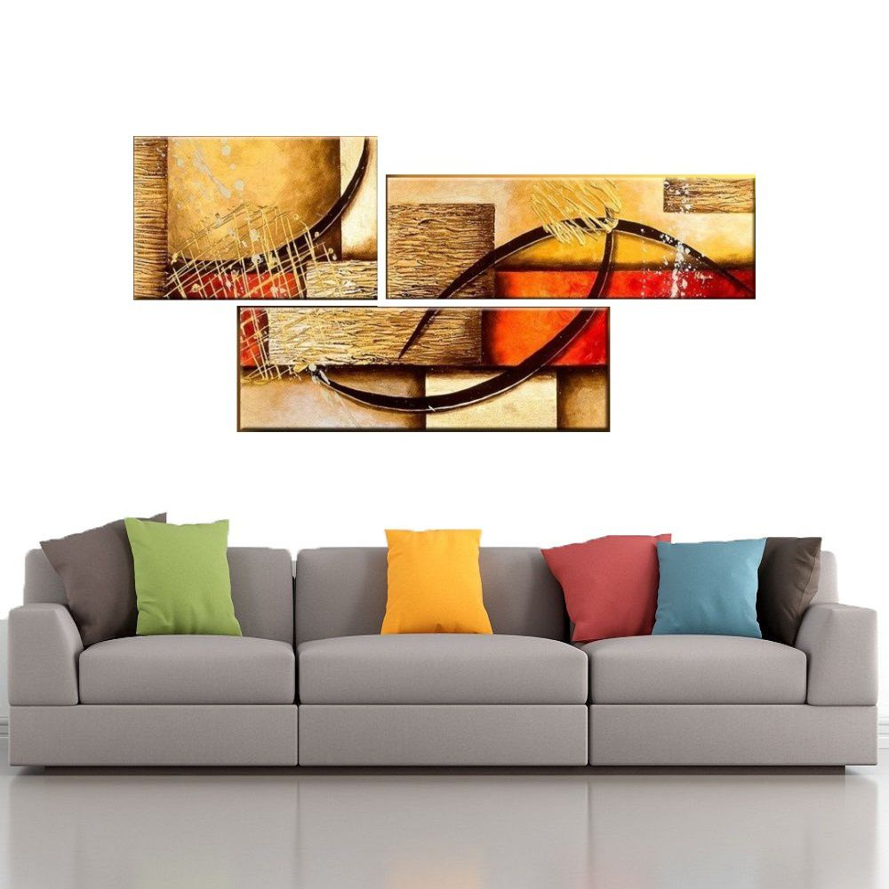 Quadro Decorativo Abstrato Cod 1711