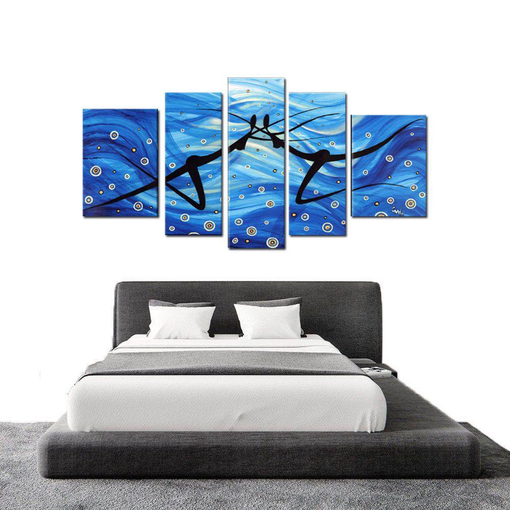 Quadro Decorativo Abstrato Dança Silhuetas Moderno Cod 245