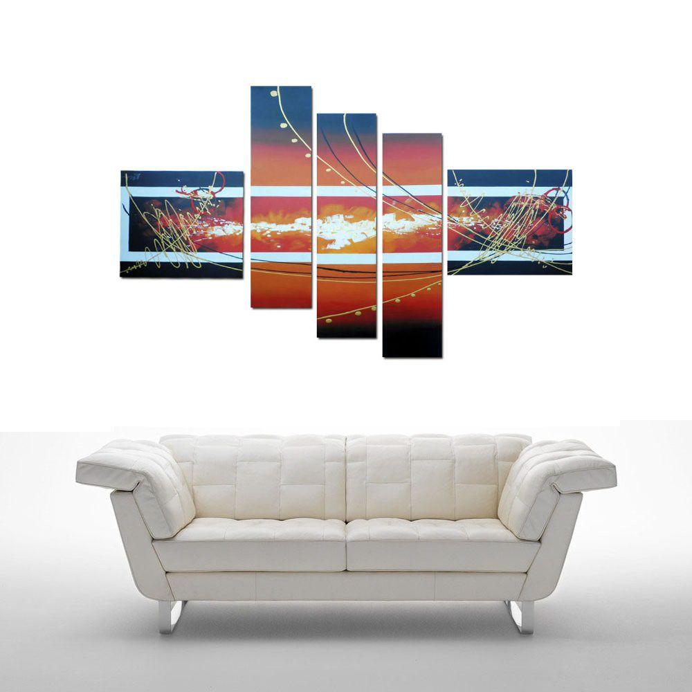 Quadro Decorativo Abstrato Moderno Cod 101