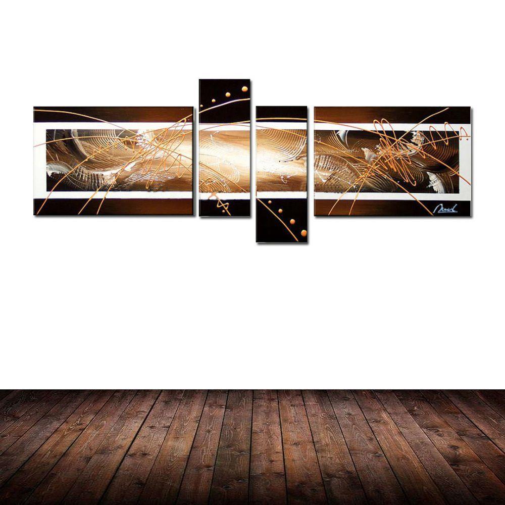 Quadro Decorativo Abstrato Moderno Cod 110