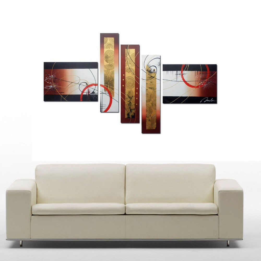 Quadro Decorativo Abstrato Moderno Cod 133