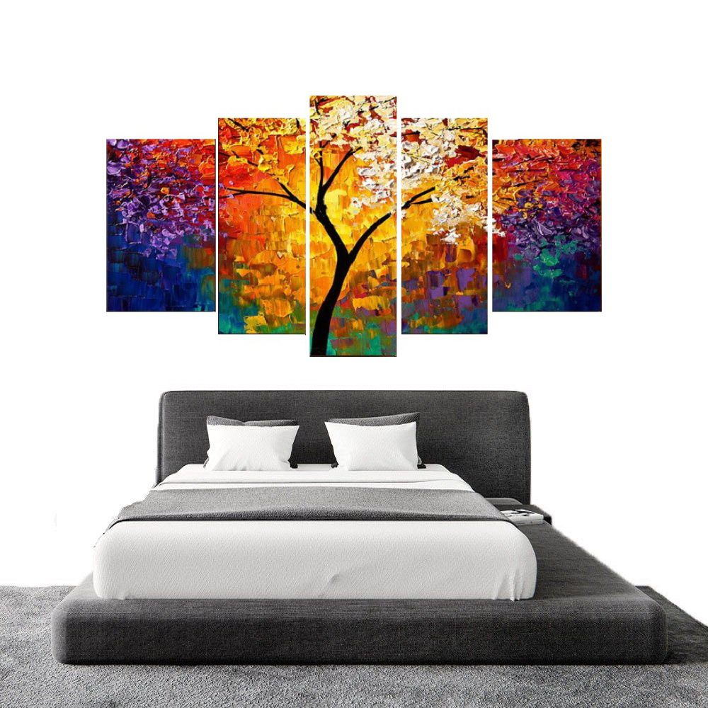 Quadro Decorativo Abstrato Moderno Cod 1700