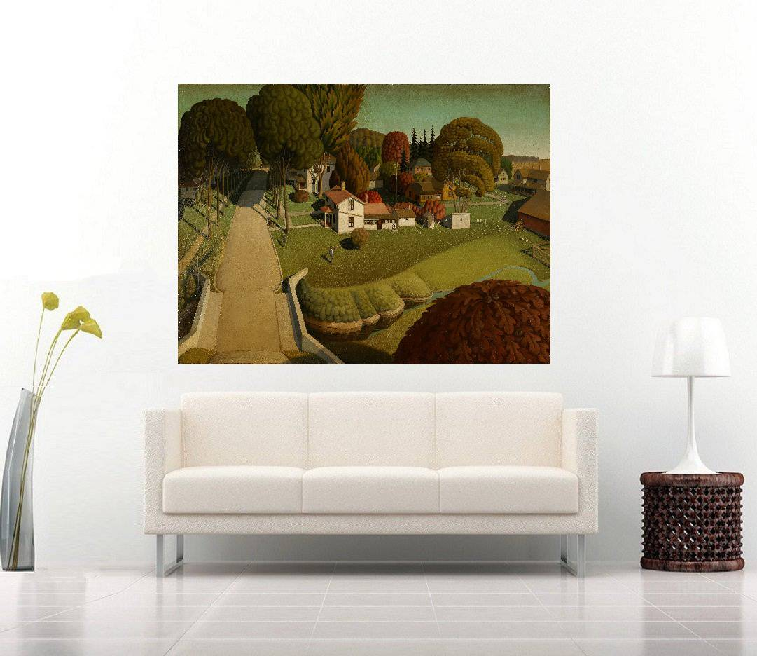 Quadro Pintura Impressão em Canvas Fine Art Cod 7002