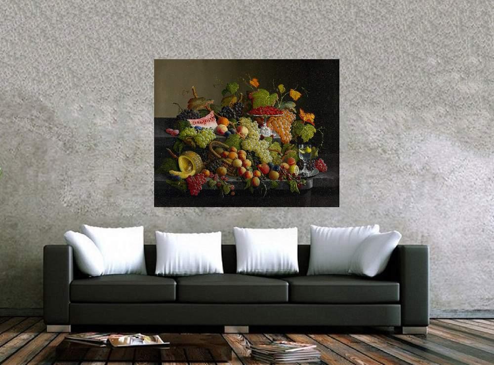 Quadro Pintura Impressão em Canvas Fine Art Cod 7003