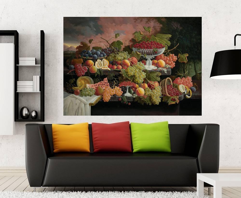 Quadro Pintura Impressão em Canvas Fine Art Cod 7005