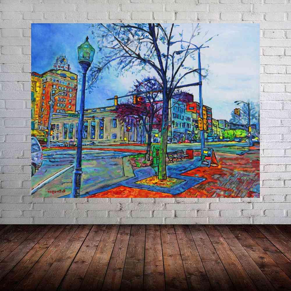 Quadro Pintura Impressão em Canvas Fine Art Cod 7006