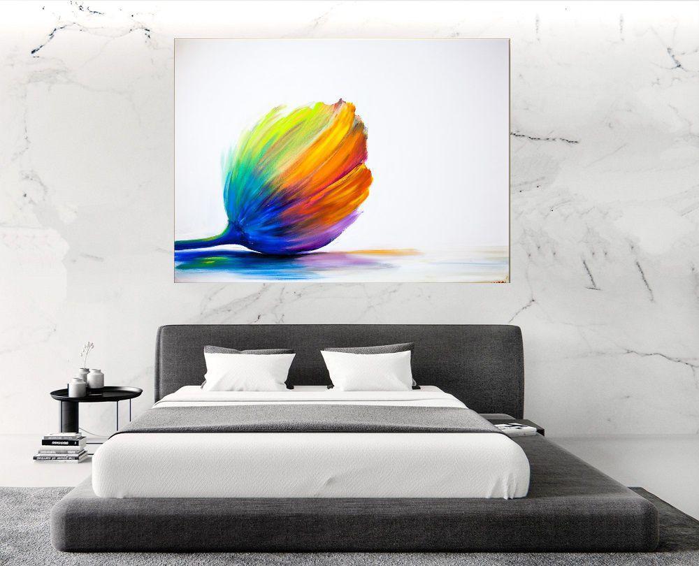 Quadro Pintura Tela Abstrato Moderno Cod 2018