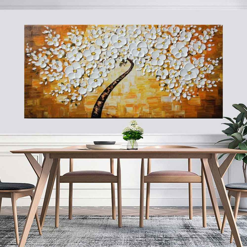 Quadro Pintura Tela Abstrato Moderno Cod 2177