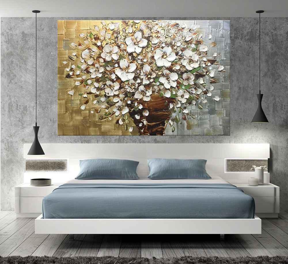 Quadro Pintura Tela Abstrato Moderno Cod 2178