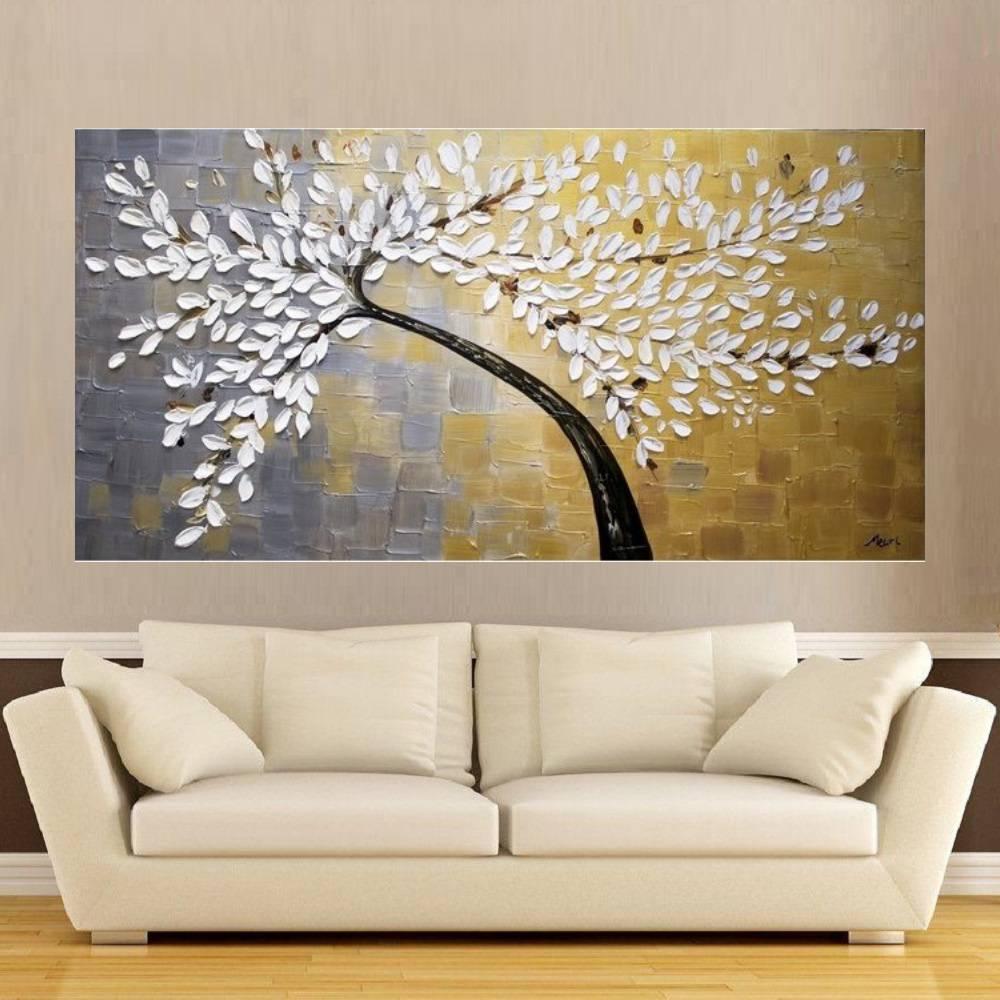 Quadro Pintura Tela Abstrato Moderno Cod 2180